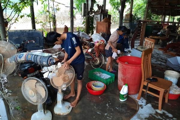 S. Korea to provide $300,000 worth of aid to flood-hit Vietnam