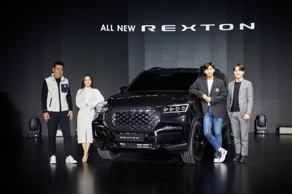 [Photo News] SsangYong unveils brand new version of mid-size SUV Rexton