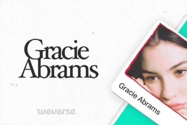 Gracie Abrams joins fan community Weverse