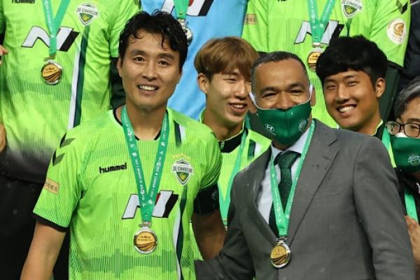 K League champions Jeonbuk part ways with coach Morais