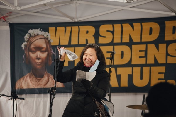 [Herald Interview] Woman who saved Statue of Peace in Berlin