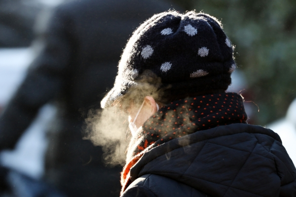 [Photo News] Cold wave of winter air hits Seoul amid COVID-19