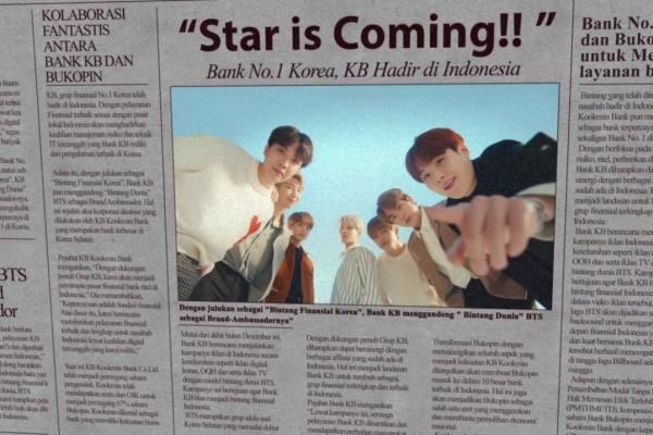 [Photo News] BTS stars in KB Kookmin's ad for Indonesia