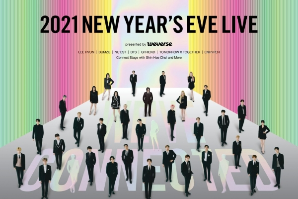 K-pop superstars to fill up New Year's Eve and Day through online concerts