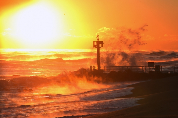 [Photo News] Last sunrise of 2020 in Gangneung