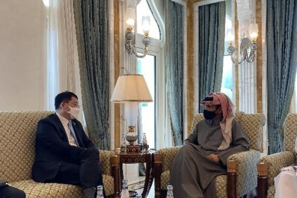[Newsmaker] Vice FM calls for Qatar's support for release of seized S. Korean ship, crew
