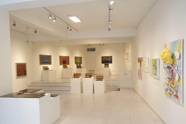 Two artists  expanding boundary of art