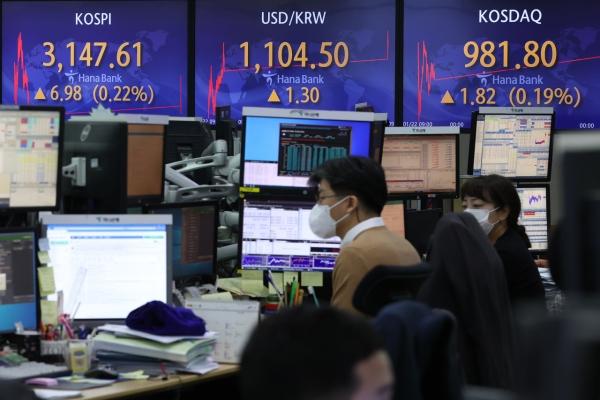 Seoul stocks open higher on vaccine, earnings hope
