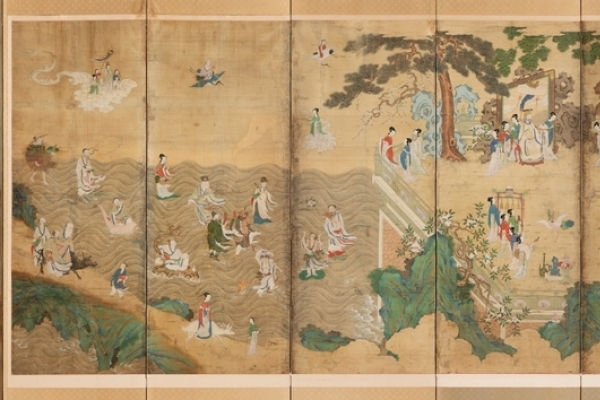 Joseon era folding screen bought at US auction on display at palace museum