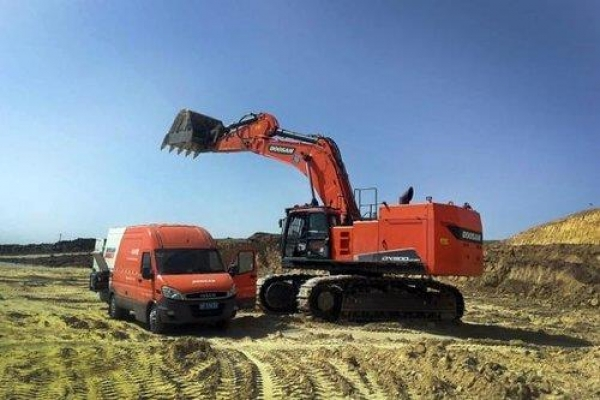 Doosan Infracore wins large-scale orders from emerging markets