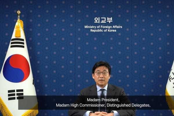 Vice FM says 'comfort women' tragedy must be addressed as 'universal human rights issue'