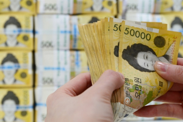 S. Korea's money supply grows in January