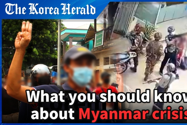 [Video] 'People in Myanmar are like prisoners'