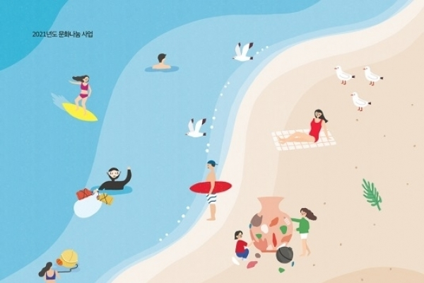 Busan Cultural Foundation starts art project to clean up city's beaches