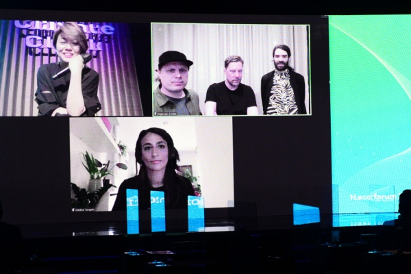 [#WeFACE] Artists warn looming climate crisis through data-driven projects