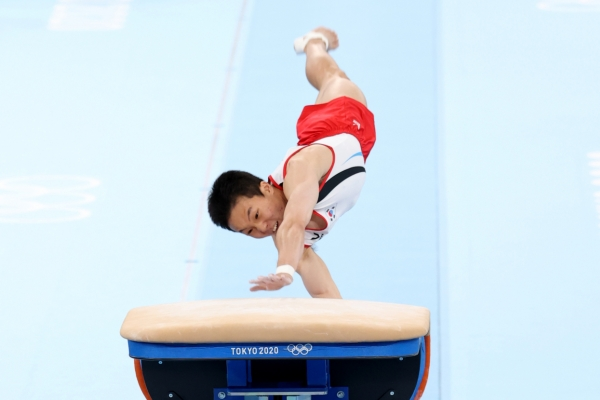 [Tokyo Olympics] New Olympic vault gold medalist pays tribute to former champion