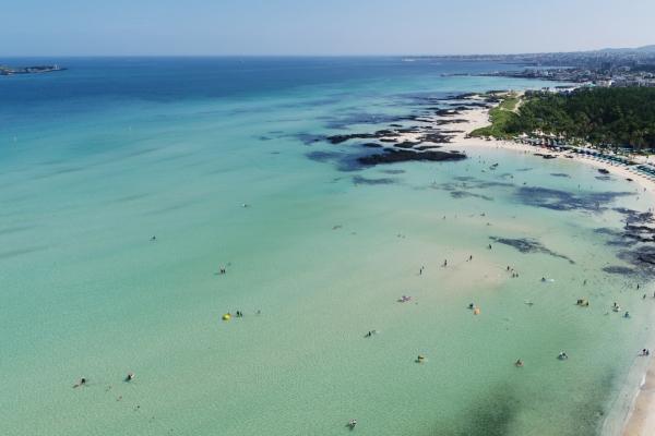 [Photo News] The summer sea of Jeju