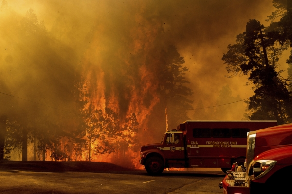 [Photo News] Flames of the French Fire Burn Northern California