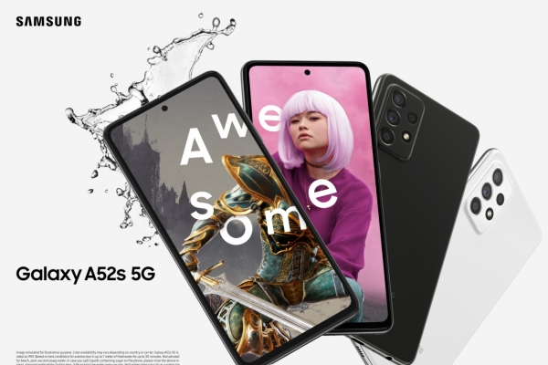 Samsung pushes harder into midrange market with Galaxy A52s 5G
