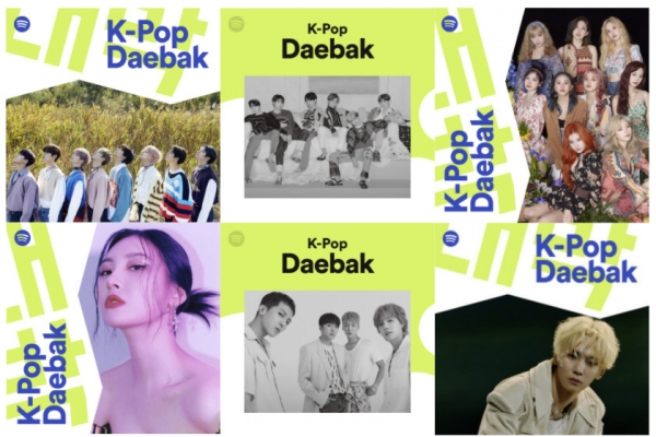 Spotify's K-pop playlist reaches 3.1 million followers