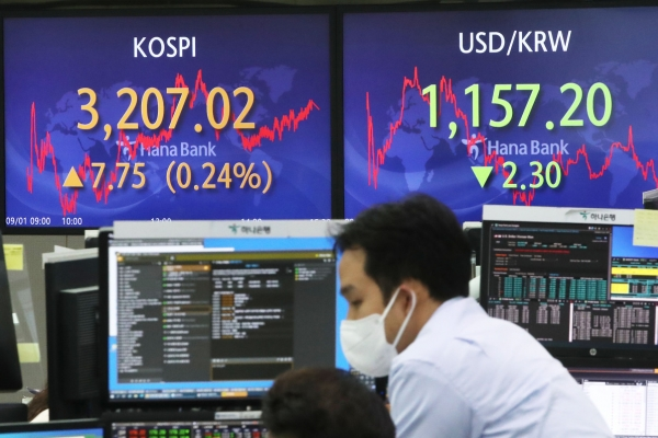 Seoul stocks up for 3rd day ahead of US inflation data release