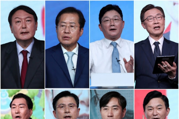 Main opposition picks 8 primary contenders in 1st 'cut-off'
