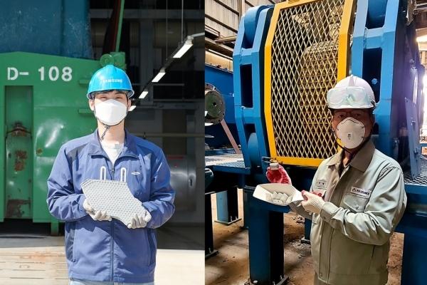 Hyundai to use Samsung sludge to make steel
