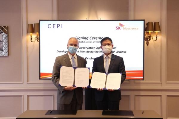 SK Bioscience renews vaccine deal with CEPI
