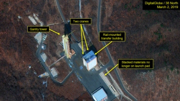 N. Korea conducts 'another crucial test' at satellite launch site
