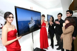 Samsung, LG fight for 3-D tech supremacy
