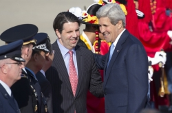 N.K. missile test unacceptable: Kerry