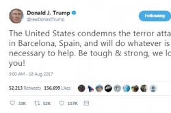US condemns Spanish attack, pledges justice for terrorists