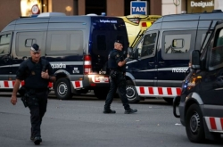 'Four suspected terrorists' shot dead south of Barcelona: police