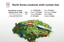 [Graphic News] North Korea conducts sixth nuclear test