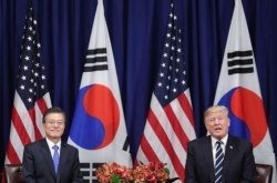 Trump due in Seoul for summit with Moon