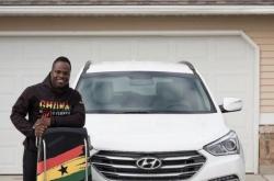 Hyundai US dealer sponsors PyeongChang's only Ghanaian athlete