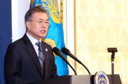Moon likely to meet N. Korean delegation to Olympics: official