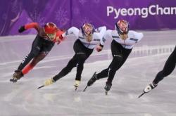 [PyeongChang 2018] S. Korea's Hwang Dae-heon wins silver, Lim Hyo-jun wins bronze in men's 500m short track