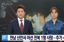 Korean anchorwoman with glasses sparks sensation