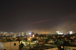 Western strikes hit bases, chemical research centres around Damascus: monitor