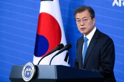 Moon's approval rating declines amid controversy over FSS chief