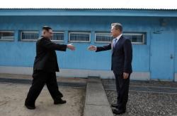 [2018 Inter-Korean summit] Conversation between Moon Jae-in and Kim Jong-un