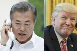 Moon ramps up cooperation with US, Japanese leaders in inter-Korean summit follow up