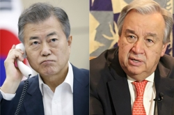 Moon rallies UN's support for Panmunjeom Declaration