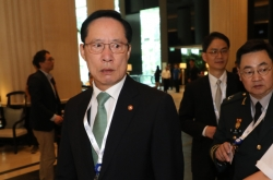 S. Korean defense minister in Singapore for security forum