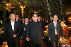 [US-NK Summit] What Kim Jong-un's nighttime tour in Singapore means