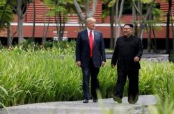 [US-NK Summit] Kim summit helped world avoid 'nuclear catastrophe': Trump