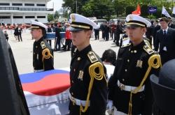 Korea, US mark return of remains of 2 soldiers killed during Korean War