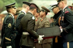 Confusion flares over talks on return of US troop remains