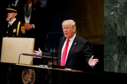 Trump touts 'bold, new push for peace' with N. Korea